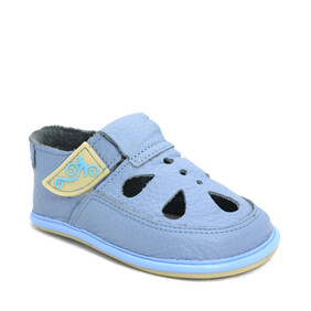 Sandale Barefoot copii Coco, Baby Blue, Magical Shoes- CO4BB-24-Magical Shoes-