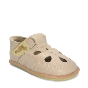 Sandale Barefoot copii Coco, bej, Magical Shoes- CO18B-24-Magical Shoes-