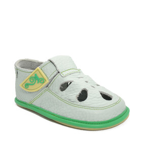 Sandale Barefoot copii Coco, gri, Magical Shoes- CO5GG-24-Magical Shoes-
