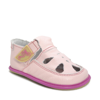 Sandale Barefoot copii Coco, roz deschis, Magical Shoes- CO17L-24-Magical Shoes-